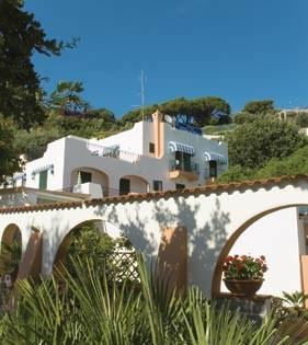 Ischia - hotel Villa Al Parco