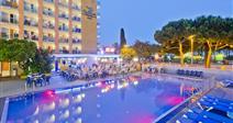 vzdušný hotel HTOP Cartago Nova s venkovním bazénem - Malgrat de Mar - Španělsko