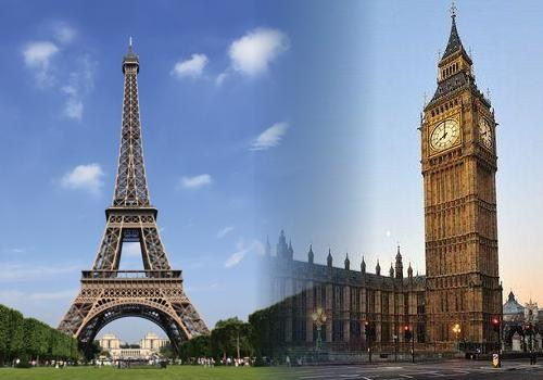 Paříž a Londýn - dva prožitky na jedné cestě