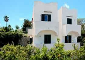 celkový pohled - Villa Agave - depandance Sorriso Therme Resort - termální ostrov Ischia - Itálie