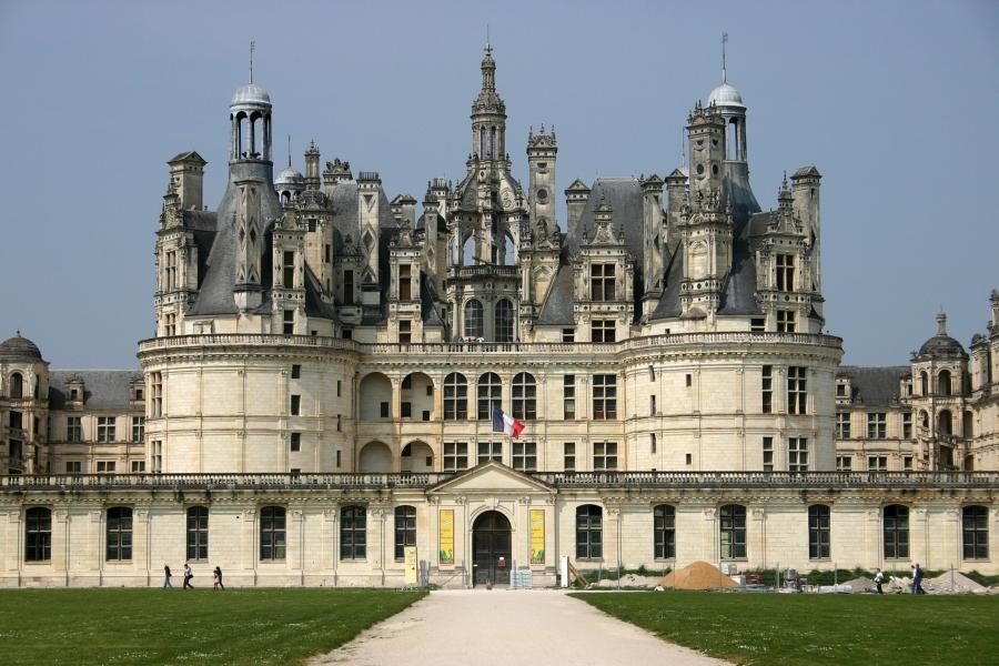 Chambord, renesanční zámek Františka I. - oblast hradů a zámků na Loiře - Francie