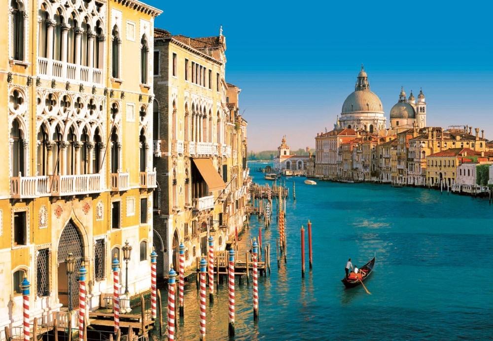 nádherná benátská laguna - Itálie