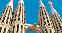 Sagrada Família - Barcelona - Slunné Katalánsko - Španělsko