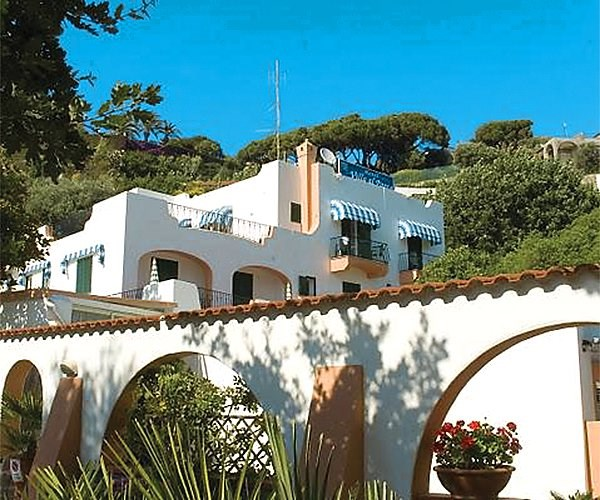 hotel Villa al Parco - termální ostrov Ischia - Itálie