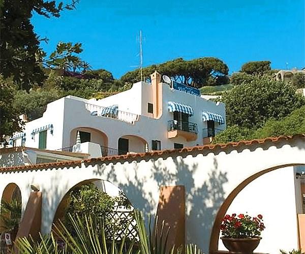 hotel Villa al Parco - termální ostrov Ischia - Forio - Itálie