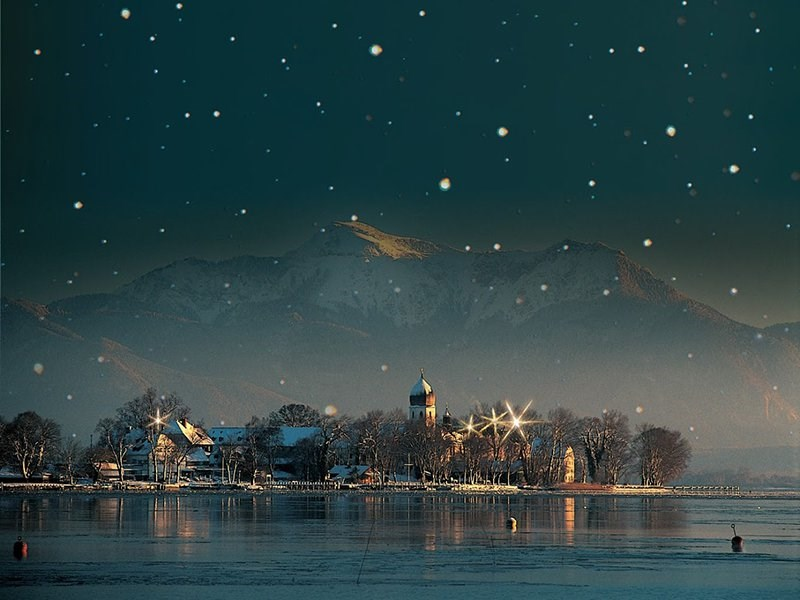 Chiemsee ostrovní advent -