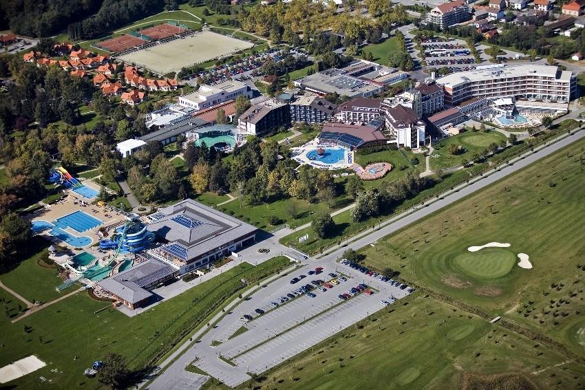 celkový pohled na lázně - Hotel Termal - lázně Moravské Toplice - Slovinsko - RELAX