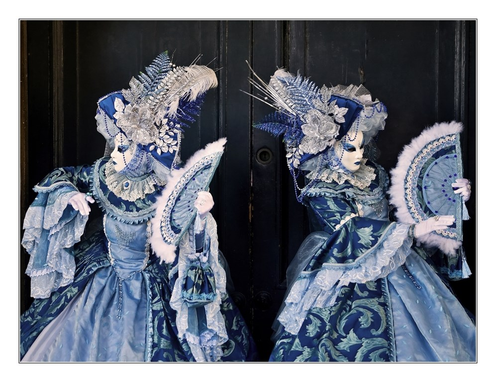 nejstarší a nejslavnější karneval - karneval v Benátkách - Itálie